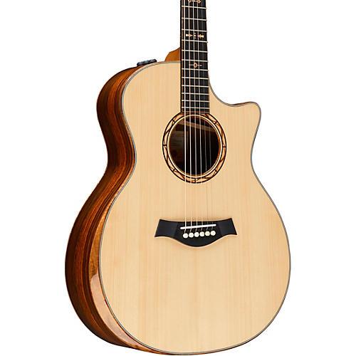 taylor custom grand auditorium 11074 acoustic electric guitar natural musician 39 s friend. Black Bedroom Furniture Sets. Home Design Ideas