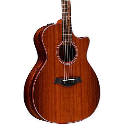 Taylor Custom Grand Auditorium #11153 Sinker Redwood and Bocote Acoustic-Electric Guitar
