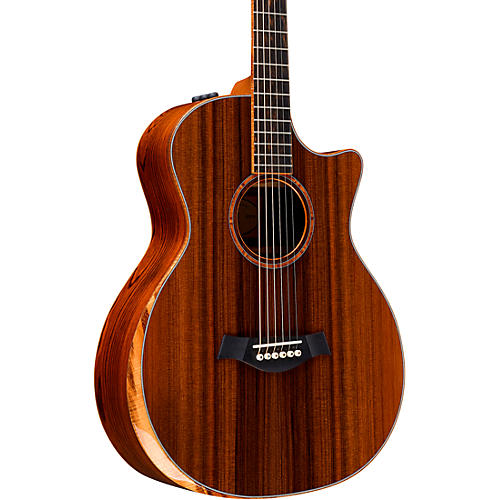 Taylor Custom Grand Auditorium 12-Fret #11090 Sinker Redwood and Cocobolo Acoustic-Electric Guitar Natural