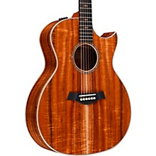 Taylor Custom Grand Auditorium V-Class #11161 Figured AA-Grade Koa Acoustic-Electric Guitar