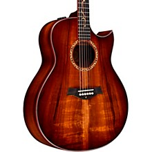Taylor Custom Grand Orchestra #11093 A-Grade Koa Acoustic-Electric Guitar