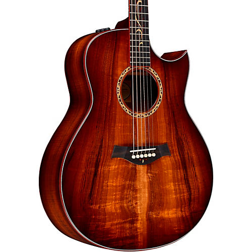 Taylor Custom Grand Orchestra #11093 A-Grade Koa Acoustic-Electric Guitar Shaded Edge Burst