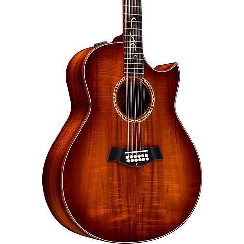 Taylor Custom Grand Orchestra 12-String #11094 A-Grade Koa Acoustic-Electric Guitar Shaded Edge Burst