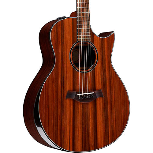 Taylor Custom Grand Symphony #11059 Solid Sinker Redwood and AA-Grade Rosewood Acoustic-Electric Guitar Natural
