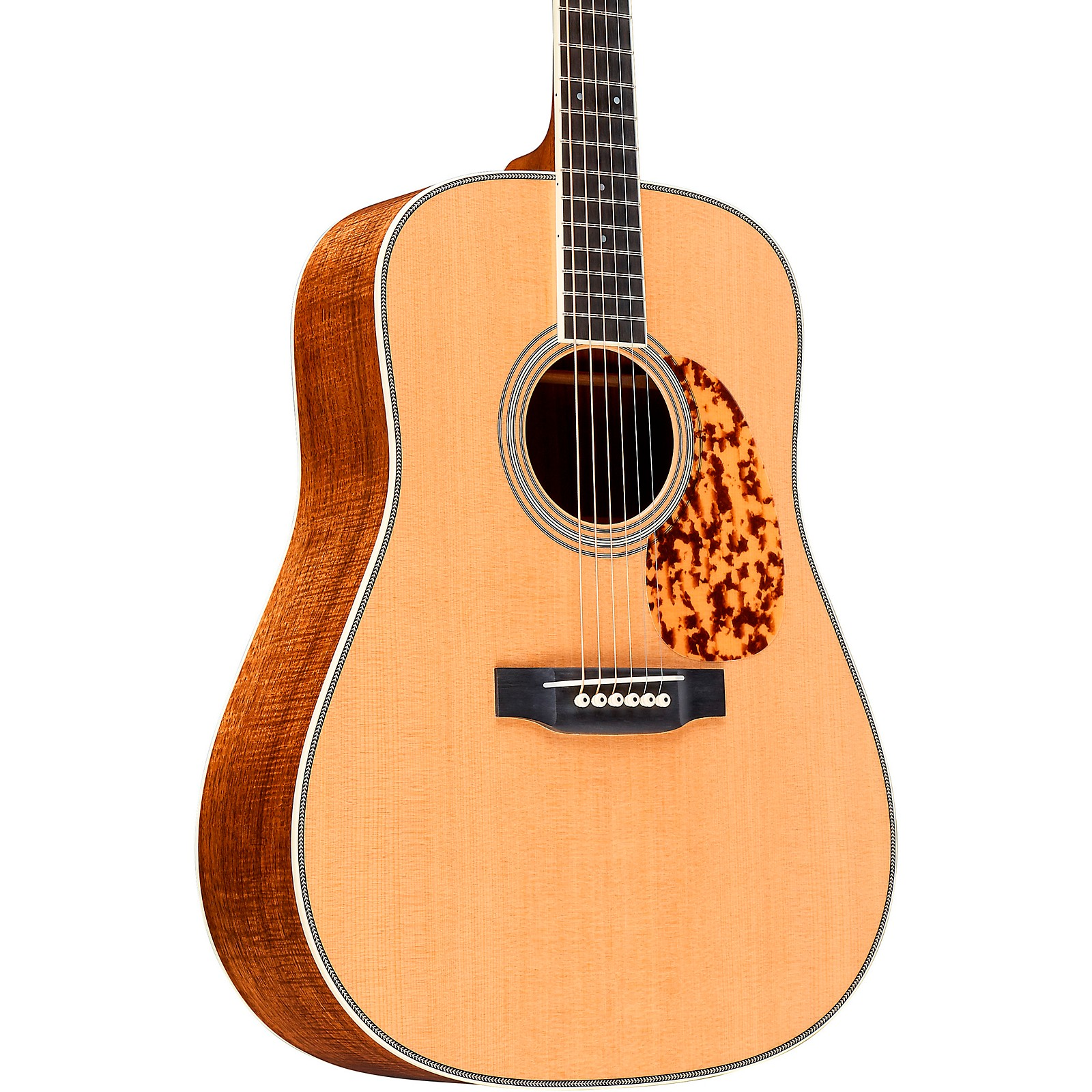 Martin Custom Highly Flamed Koa Dreadnought Acoustic Guitar