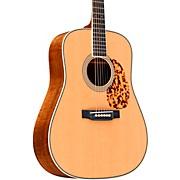 Custom Highly Flamed Koa Dreadnought Acoustic Guitar Natural