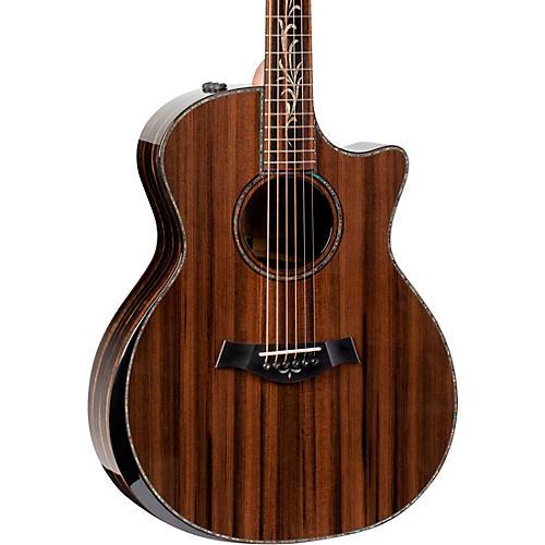Custom Limited Edition Ebony Grand Auditorium Acoustic-Electric Guitar