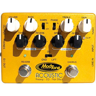 Modtone Custom Line Acoustic Preamp Pedal