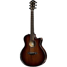 Taylor Custom Mahogany Grand Symphony Acoustic-Electric Guitar
