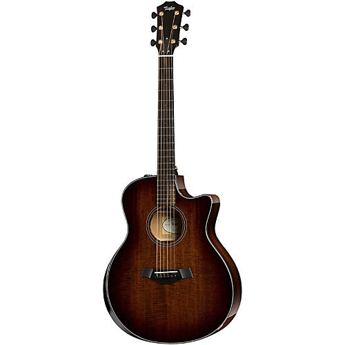 Taylor Custom Mahogany Grand Symphony Acoustic-Electric Guitar
