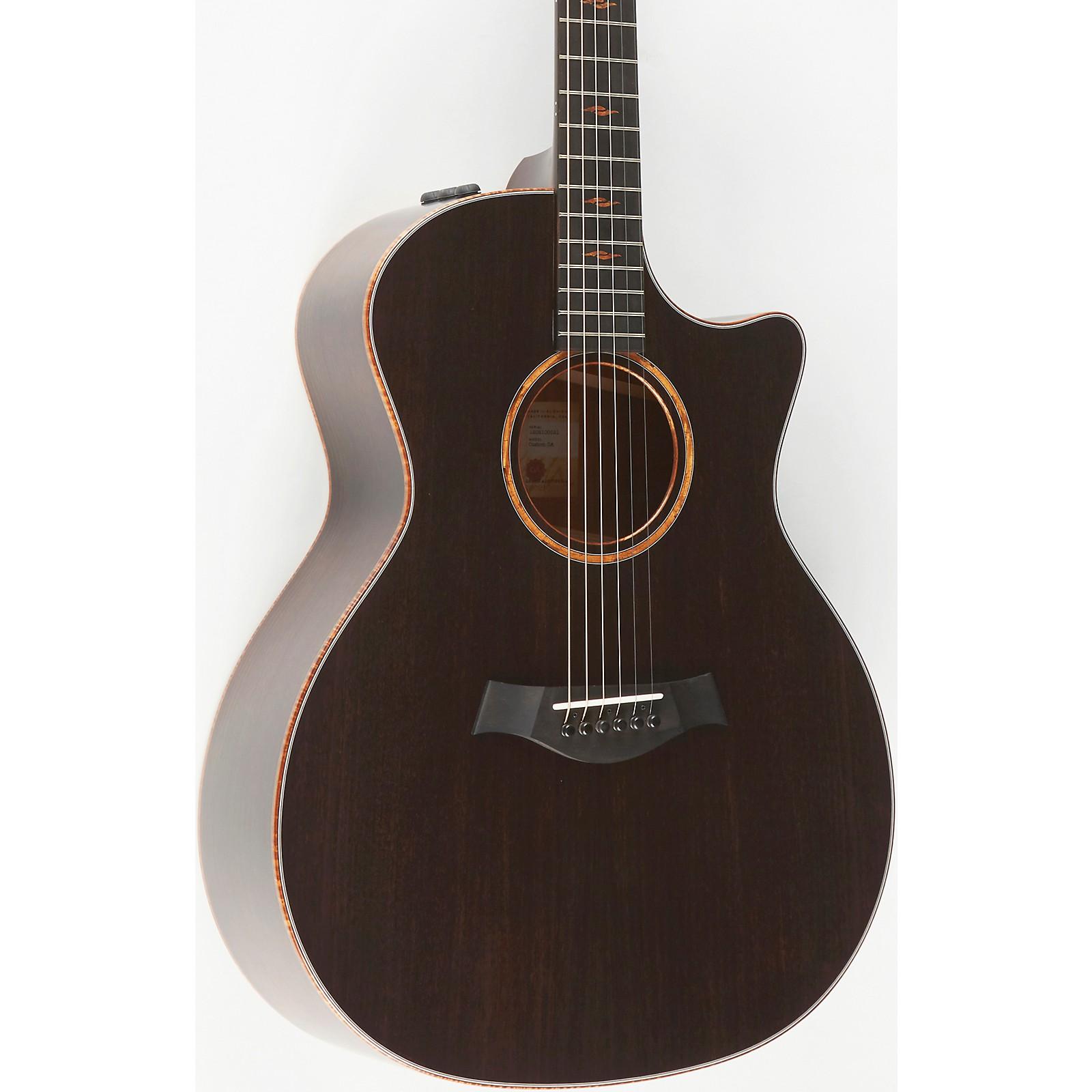 Taylor Custom No. 1 Grand Auditorium Acoustic-Electric Guitar