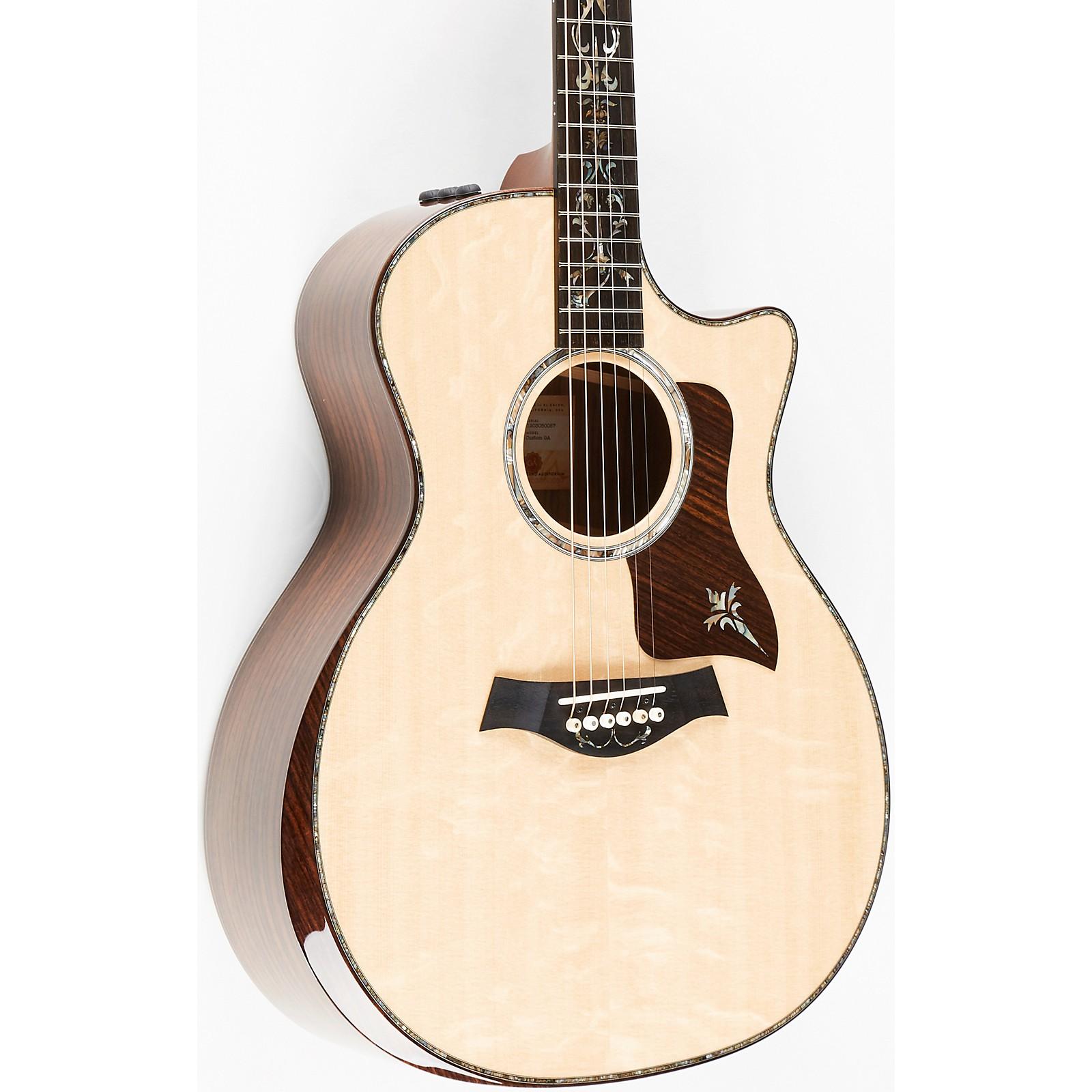 Taylor Custom No. 3 Grand Auditorium Acoustic-Electric Guitar