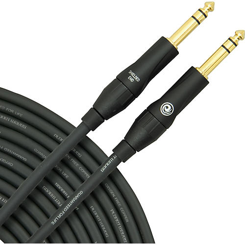 D'Addario Planet Waves Custom Pro Stereo Instrument Cable