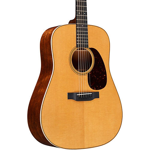 Martin Custom Quilted Mahogany Dreadnought with VTS Top Deluxe Aged Toner