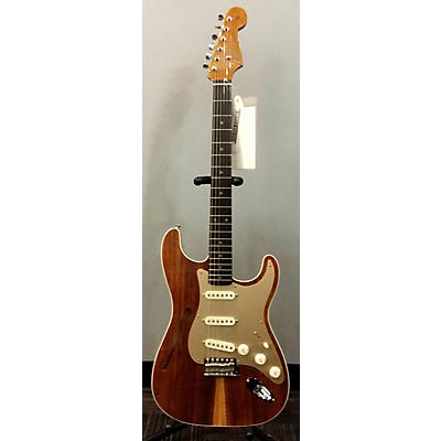 Fender Custom Shop Artisan Thinline Stratocaster Hollow Body Electric Guitar