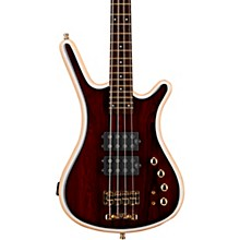Warwick Custom Shop Corvette $$ Cocobolo Top 4-String Electric Bass