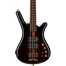 Warwick Custom Shop Corvette $$ Ziricote Top 4-String Electric Bass