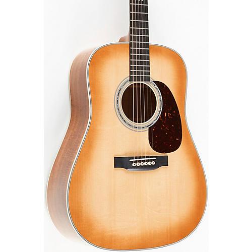 Martin Custom Shop Flamed Koa Dreadnought Acoustic Guitar Natural