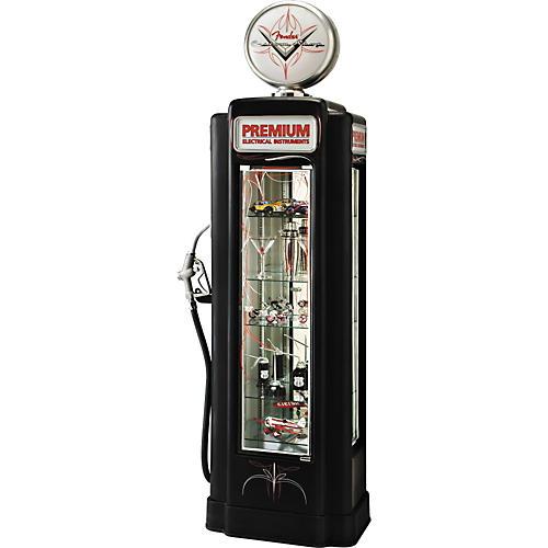 Fender Custom Shop Gas Pump Shelf Display Case