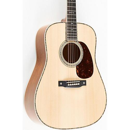 Martin Custom Shop Guatemalan Rosewood Dreadnought Acoustic Guitar Natural