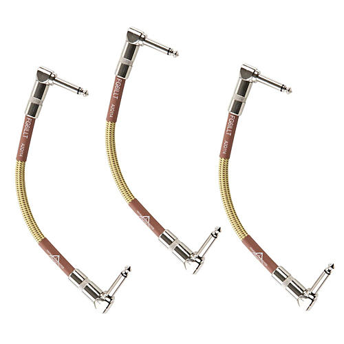 Fender Custom Shop Instrument Cable--3 Pack
