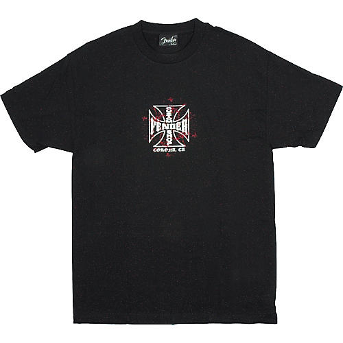 Fender Custom Shop Iron Cross T-Shirt
