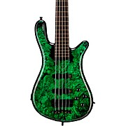 Custom Shop Streamer Stage II 5-String Electric Bass Neon Green