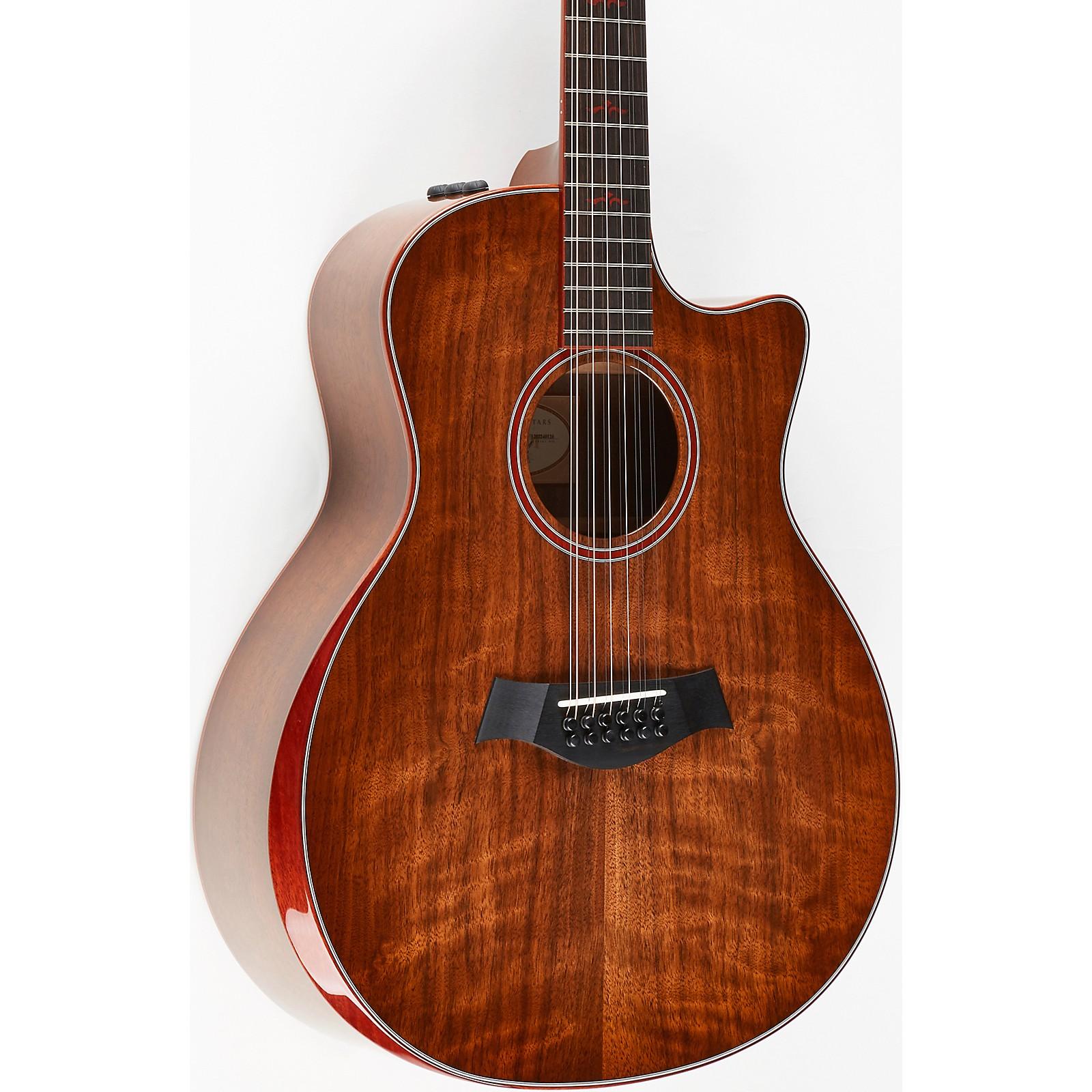 Taylor Custom Walnut Grand Symphony 12-String Acoustic-Electric Guitar