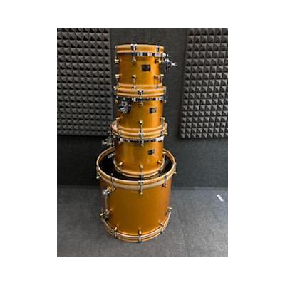 Spaun Custom Wood Hoop Drum Kit
