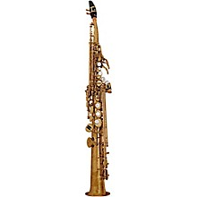 Custom YSS-82Z Series Professional Soprano Saxophone with Curved Neck Unlacquered