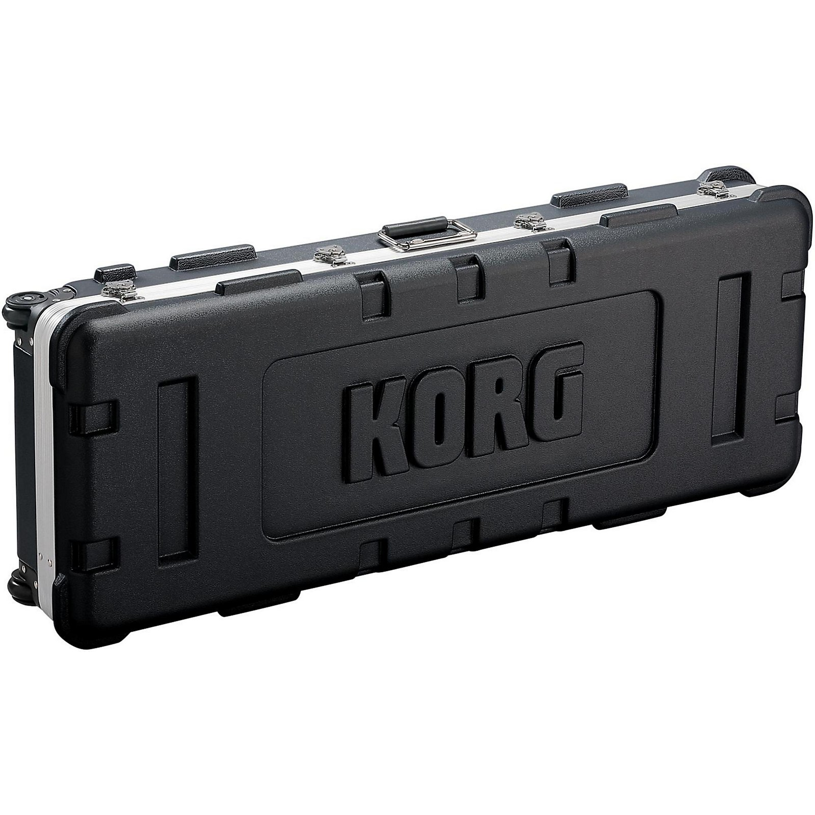 Korg Custom black hard shell case for 61 key Kronos