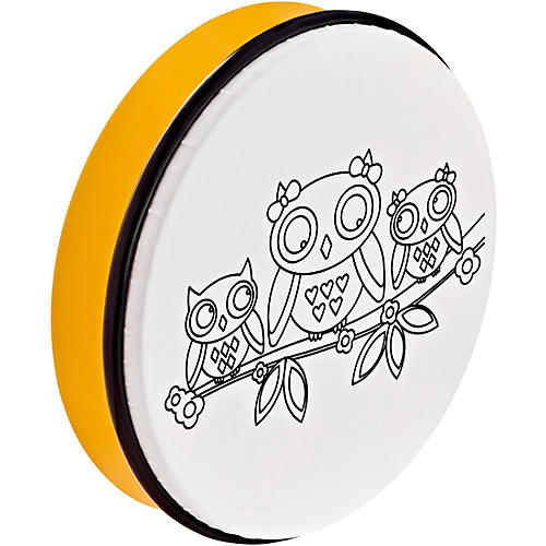 Nino Customizable ABS Hand Drum With Owl Design