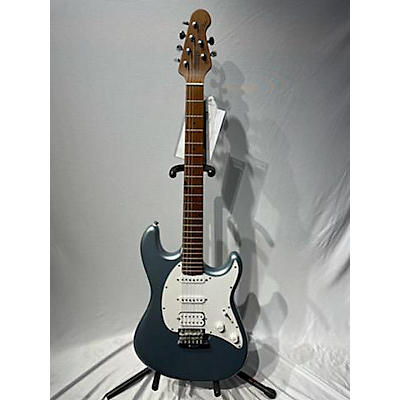 Sterling by Music Man Cutlass HSS Electric Guitar Firemist Silver Solid Body Electric Guitar