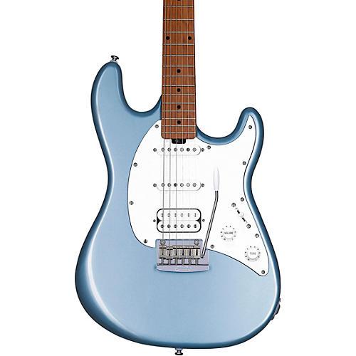Sterling by Music Man Cutlass HSS Electric Guitar Firemist Silver