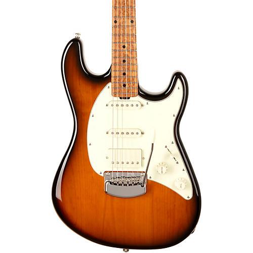 Ernie Ball Music Man Cutlass HSS Trem Electric Guitar Tobacco