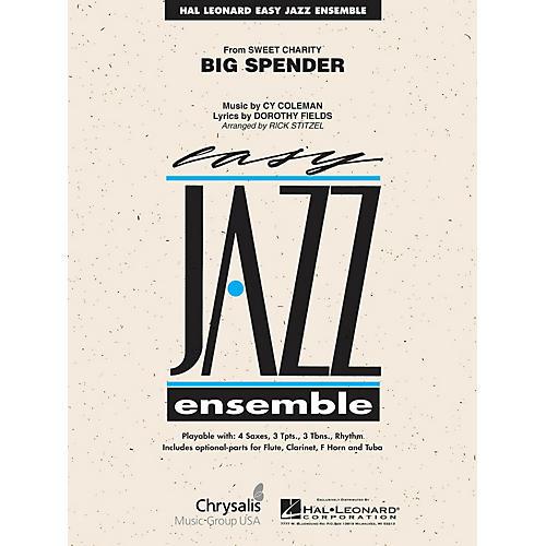 Hal Leonard Cy Coleman: Big Spender (Sweet Charity) Jazz Band Level 2 Arranged by Rick Stitzel