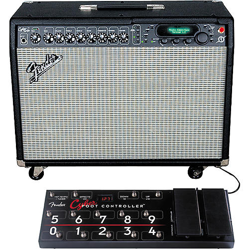 Fender Cyber Twin and Footcontroller Package