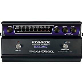 rocktron cyborg digital delay guitar effects pedal musician 39 s friend. Black Bedroom Furniture Sets. Home Design Ideas
