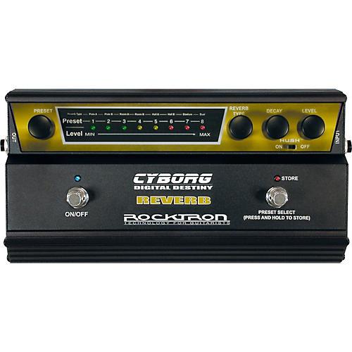 Rocktron Cyborg Digital Reverb Guitar Effects Pedal