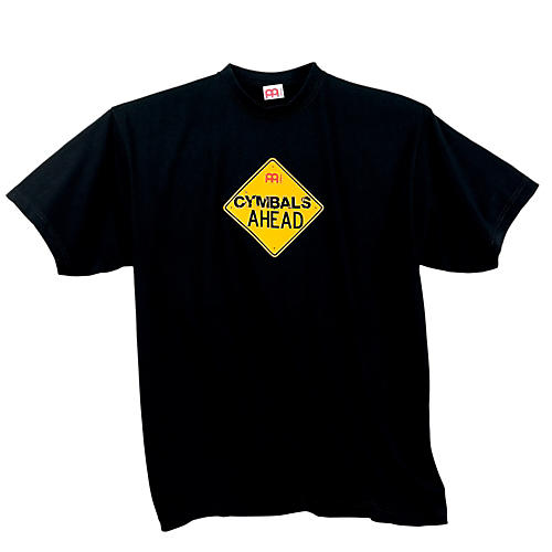 Meinl Cymbals Ahead T-Shirt, Black