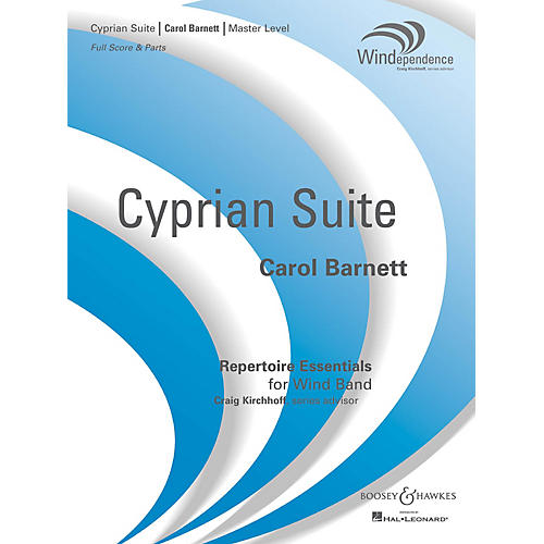 Boosey and Hawkes Cyprian Suite (Score Only) Concert Band Level 4 Composed by Carol Barnett