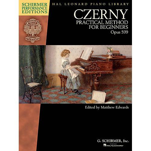 G. Schirmer Czerny - Practical Method for Beginners Op 599 Schirmer Performance Editions by Czerny Edited by Edwards