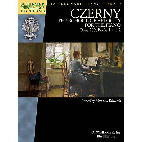 G. Schirmer Czerny - School of Velocity, Op. 299 Schirmer Performance Editions by Czerny Edited by Matthew Edwards