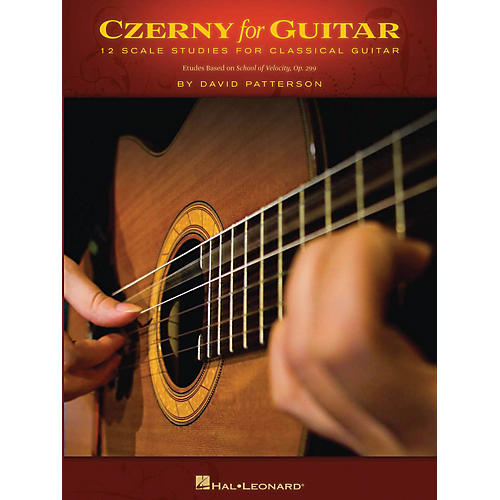 Hal Leonard Czerny for Guitar (12 Scale Studies for Classical Guitar) Guitar Book Series Softcover by David Patterson