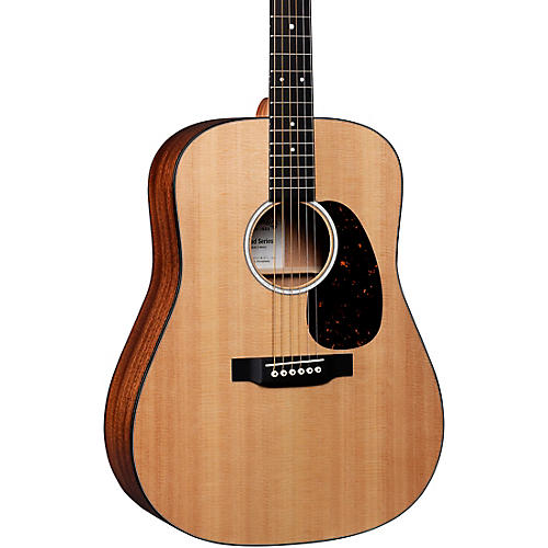 Martin D-10E Road Series Dreadnought Acoustic-Electric Guitar Natural