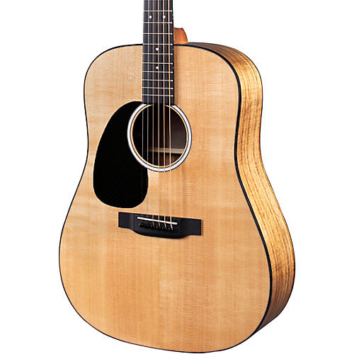 Martin D-12E Road Series KOA Fine Veneer Dreadnought Left Handed Acoustic-Electric Guitar Natural