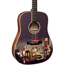 Martin D-16EPD Poker Dogs Dreadnought Acoustic-Electric Guitar