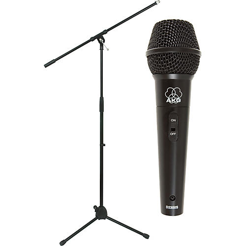 AKG D 2300 S Microphone with Stand Pack