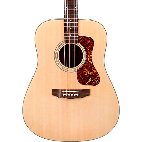 Guild D-240E Flamed Mahogany Dreadnought Acoustic-Electric Guitar Natural