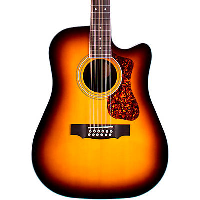 Guild D-2612CE Deluxe 12-String Cutaway Acoustic-Electric Guitar